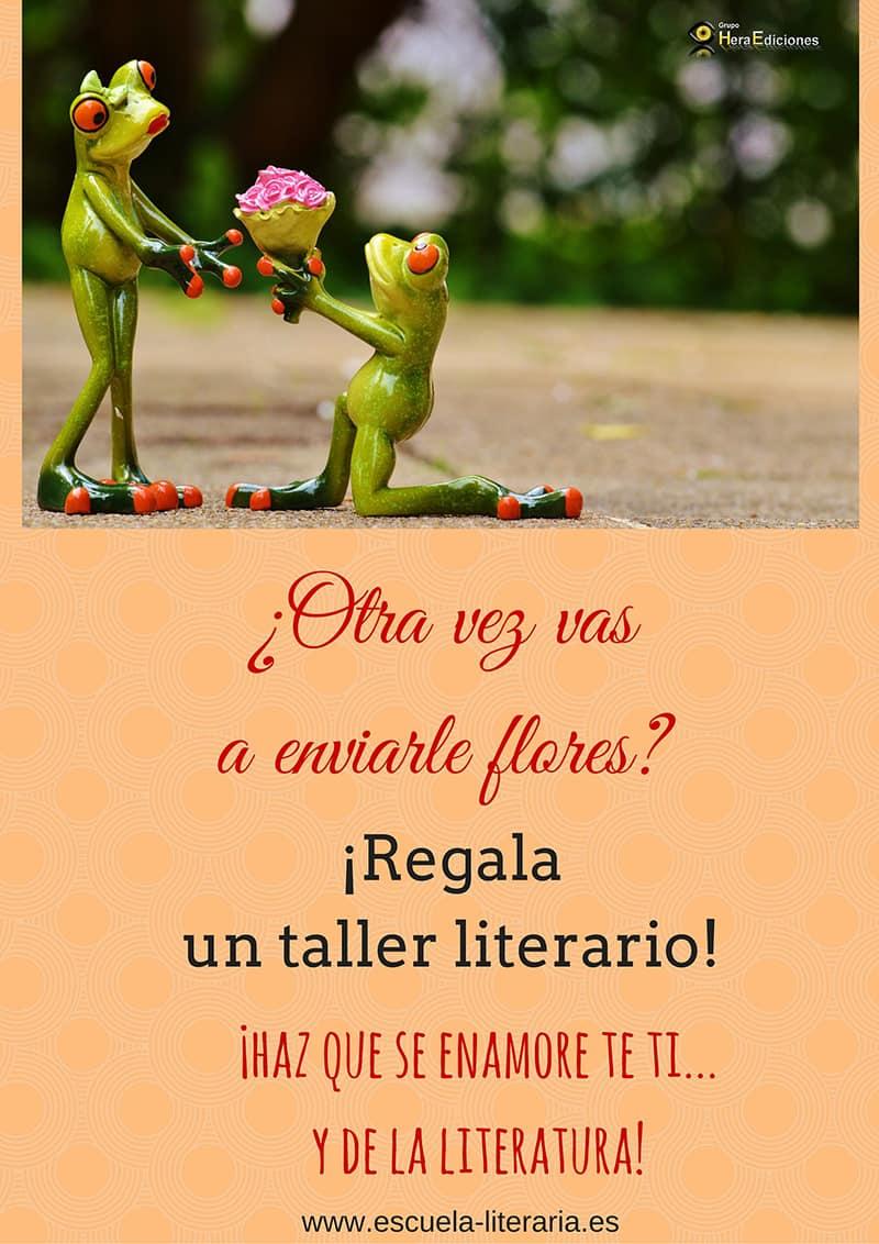En Grupo Hera Ediciones lanzamos una campaña para San Valentín #SorprendeconLiteratura, con un divertido concurso de tuits en el que el ganador recibirá un curso literario gratuito