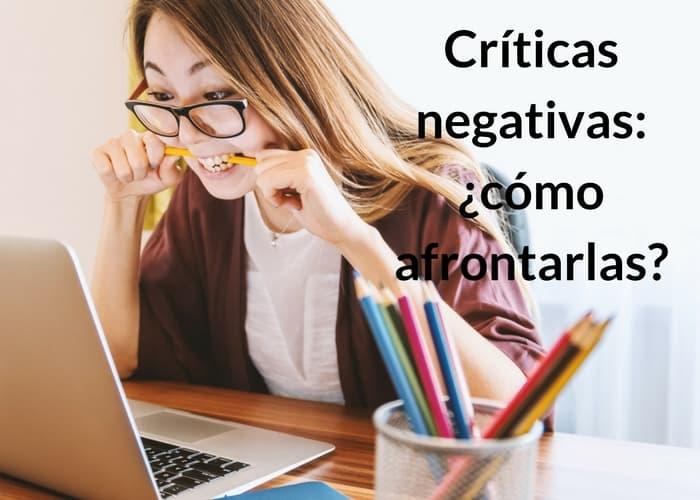cómo utilizar una crítica negativa