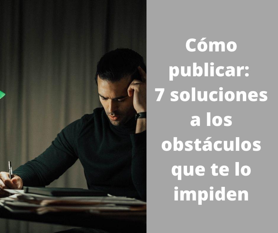 qué hacer para publicar