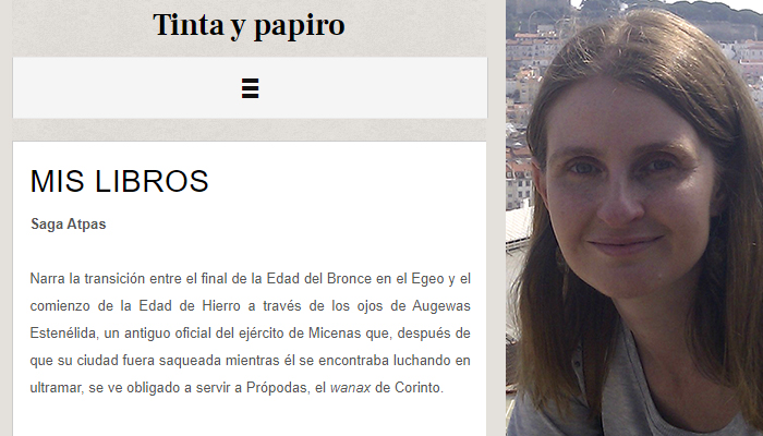 Irene Sustacha Tinta y Papiro